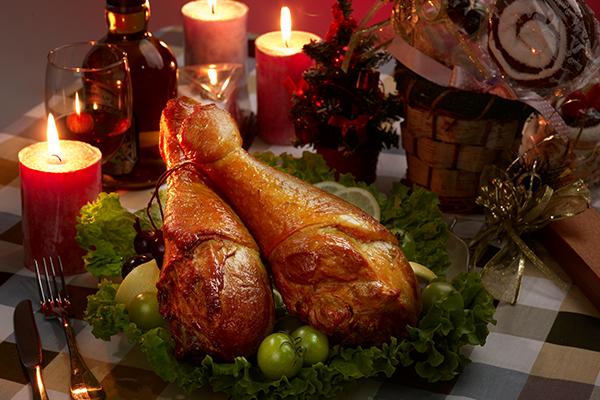 圣诞火鸡腿